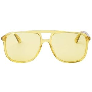 bf9847e96c Gucci Accessories - Gucci Urban Sunglasses 0262S Yellow Frame
